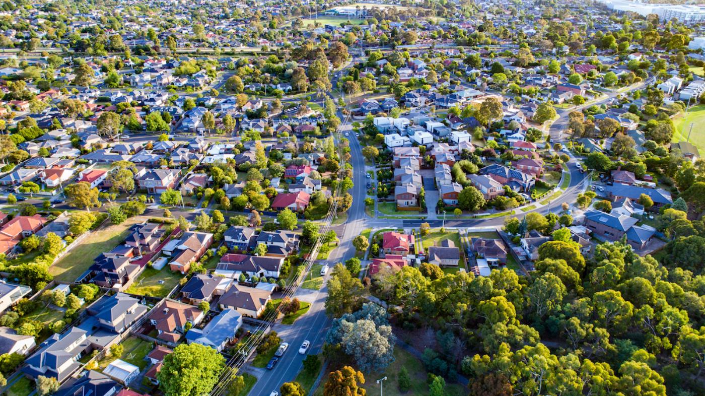 Housing aerial i Stock 636678840