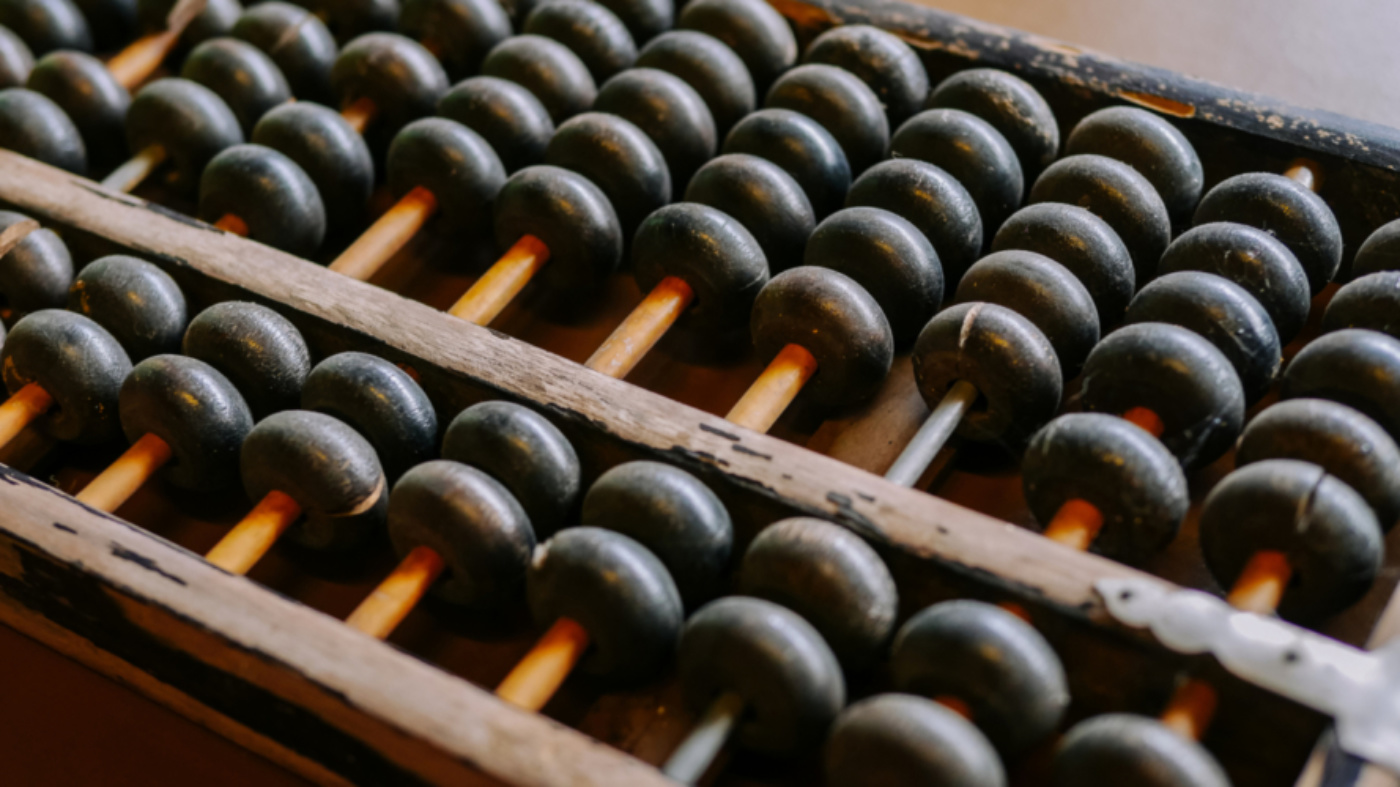Abacus i Stock 614324724
