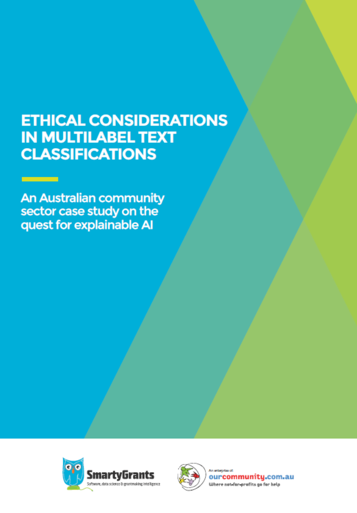 White Paper2021 Ethical considerations in multilabel text classifications Cover