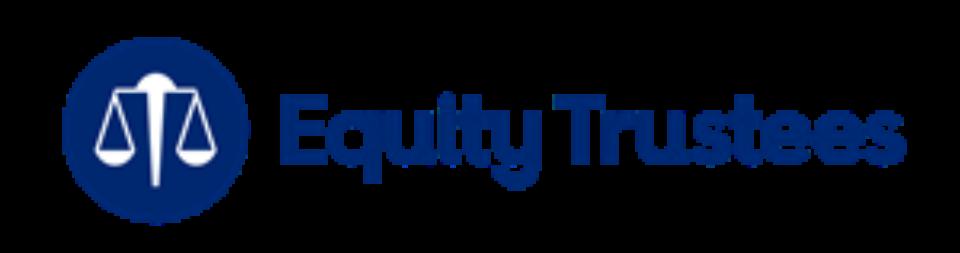 Eqt brandmark blue with white scales
