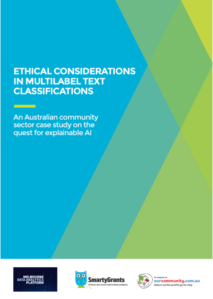 PDF cover Ethical considerations in multilabel text classifications